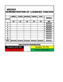 Demonstration of Learning Tracker (DOL)