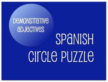 Best Sellers: Spanish Demonstrative Adjectives