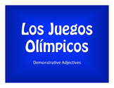 Spanish Demonstrative Adjective Olympics