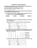 Demonstrative Adjectives - Interactive Notes Sheet