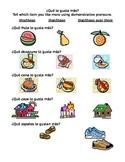 Demonstrative Adjectives & Pronouns / Adjetivos demostrativos y sus pronombres