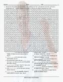 Demonstrative Adjectives Spanish Word Search Worksheet