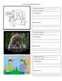Demonstrative Adjectives and Meme Analysis Activity (Adjetivos Demostrativos)