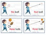 Demonstrative Pronoun Flashcards