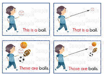 Demonstrative Pronoun Flashcards