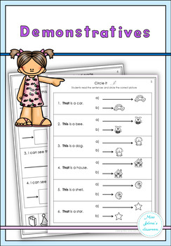 Demonstratives Set