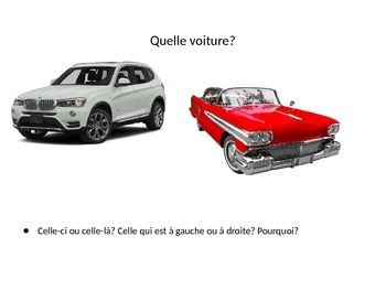 Demonstrative Pronouns in French, D'ACCORD Level 3 Chapter 6