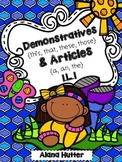 Demonstratives & Articles 1.L.1