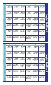 Demonstratives Battleship Board Game