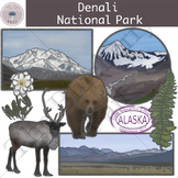 Denali National Park Clipart Set