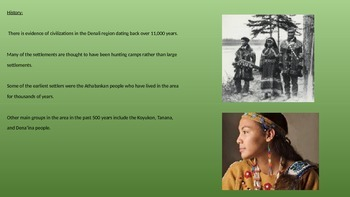 Denali National Park - Power Point History Facts Pictures McKinley Information