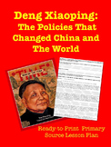 Deng Xiaoping Primary Source Reading & Lesson Plan