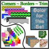 Denim Borders Trim Corners *Create Your Own Dream Classroo