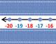 Denim Number Line -20 - 120 or 0-100