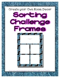 Denim Sorting Mat Frames * Create Your Own Dream Classroom