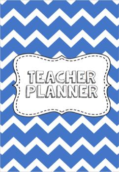 Denim Teacher Planner