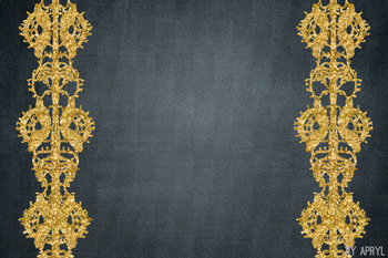 Denim and Lace Gold Glitter 12x12 Printable Scrapbook Paper Texture Background