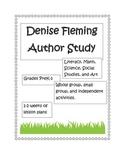 Denise Fleming Author Study