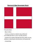 Denmark Map Scavenger Hunt