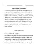 Denmark Vesey Plot Primary Source Excerpts