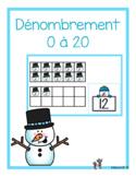 Dénombrement 0 à 20 (hiver)