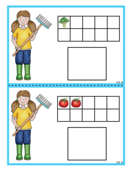 Dénombrement 1 à 20 (Fruits et légumes)