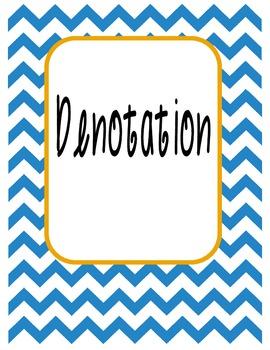 Denotation File Folder Game