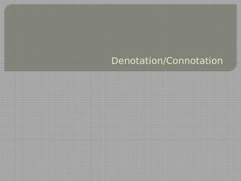 Denotation and Connotation