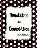 Denotation and Connotation Activity