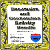 Denotation and Connotation Activity Bundle