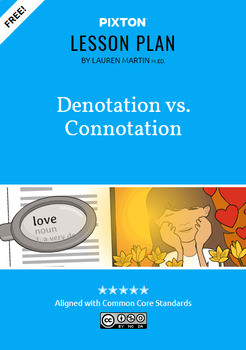 Denotation vs. Connotation Activities: Emotional, Symbolic, Create Words