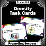 Density and Buoyancy, Weight and Mass, Science Task Cards