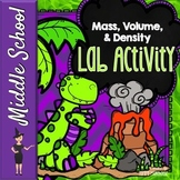 Mass, Volume, & Density Activity for Middle School - Growing Dinosaurs