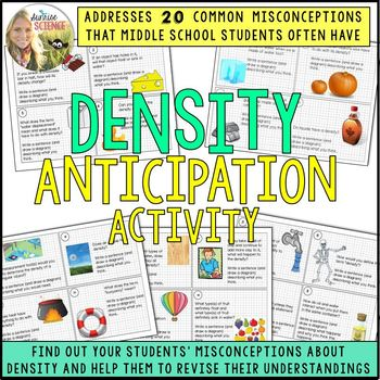Density Anticipation Activity: Addressing Student Misconceptions