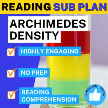 Science Literacy Density Archimedes Sub Plan