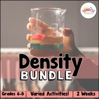 Density Bundle : Activities, Doodle Notes, Station Labs Escape Game, Quiz