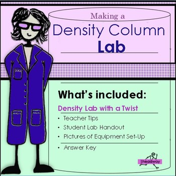 Density column lab by headway lab teachers pay teachers density column lab ibookread Download