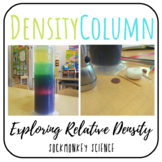 Density Column Lab: Relative Density Experiment {Physical Properties of Matter}