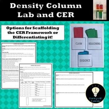 Density Column Lab with CER