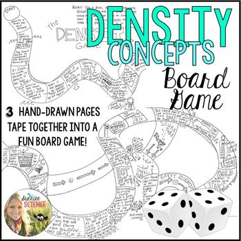 Density Concepts Review Boardgame
