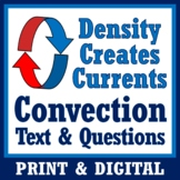 Density + Convection Currents Reading w/Questions Workshee