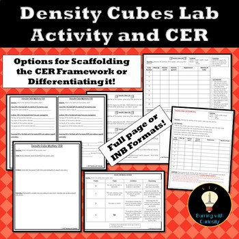 Density Cubes Lab and CER