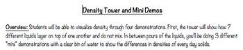 Density Demonstrations