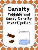 Density Investigation, Density Lab, Density Interactive Notebook