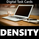 Density Digital Task Cards Activity (Distance Learning)