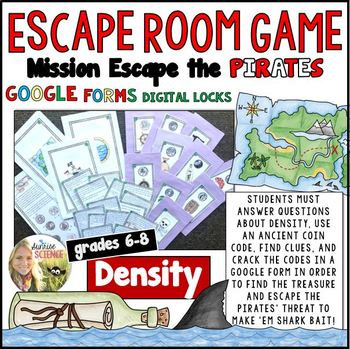 Density of Matter Escape Room Review Game