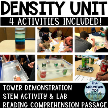 Density Experiment-STEM Activity and Reading Comprehension