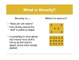 Density Exploration Slideshow