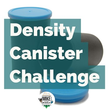 Density Film Canister Lesson for Science