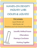 Density Inquiry Labs (Solids and Liquids) -- Density Tower